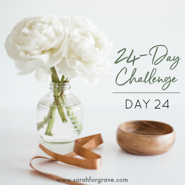 24-Day Challenge: DAY 24!!!