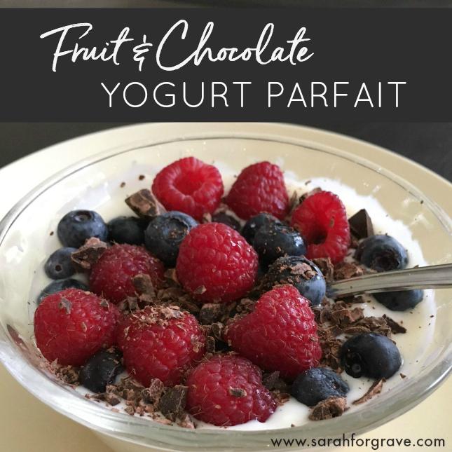Fruit and Chocolate Yogurt Parfait Recipe