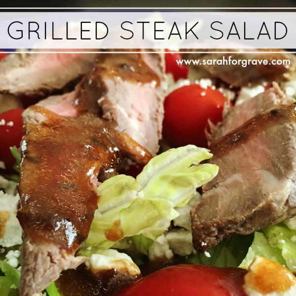 Brazilian Feast Recipe Link-Up + Grilled Steak Salad Recipe