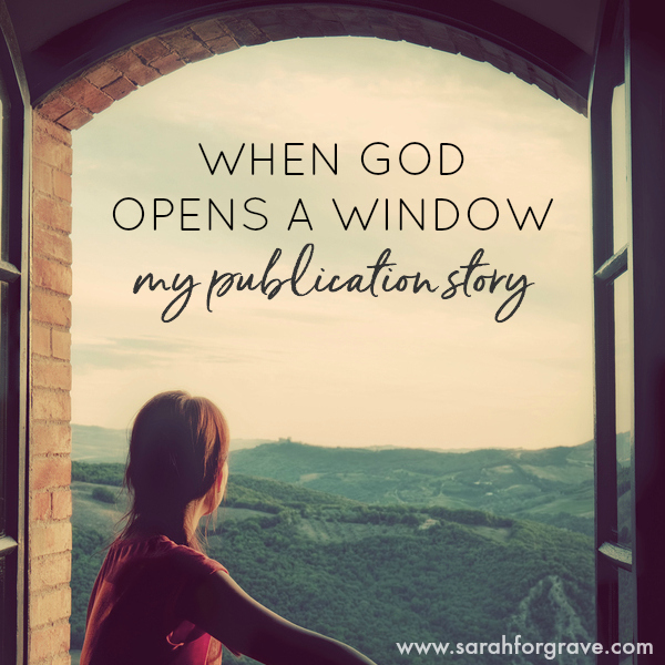 When God Opens a Window: My Publication Story