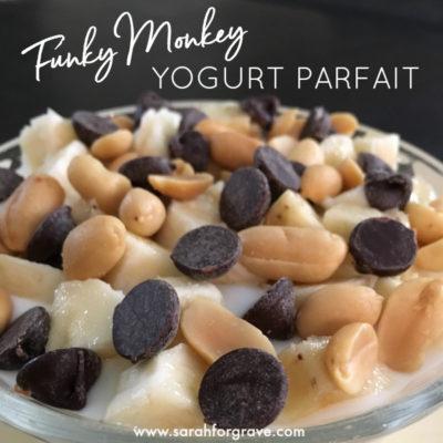 Funky Monkey Yogurt Parfait Recipe