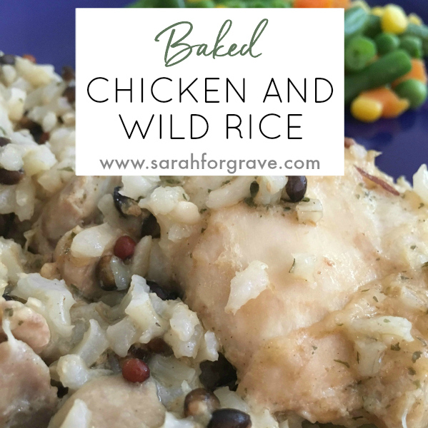 Baked Chicken and Wild Rice Recipe