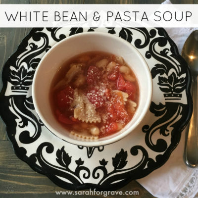Easy White Bean and Pasta Soup Recipe