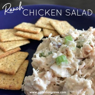 """Ranchy"" Chicken Salad"