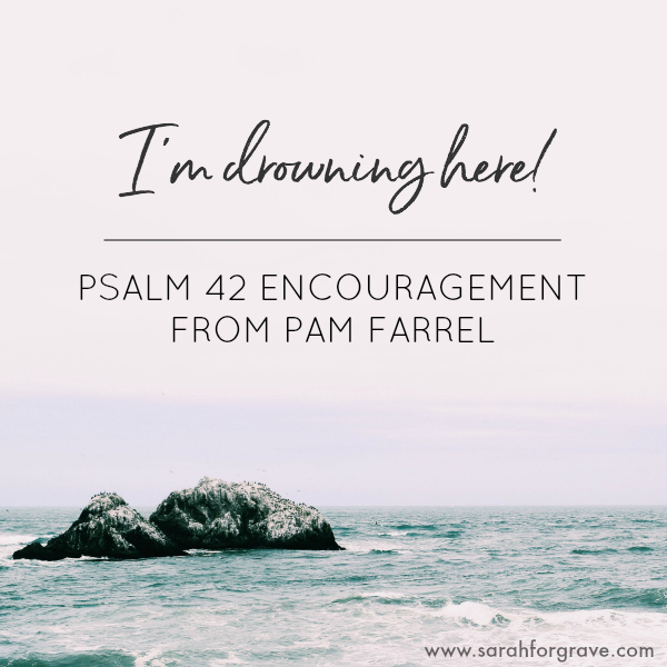 I'm Drowning Here! (Encouragement from Psalm 42)