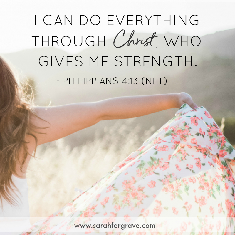 Philippians 4:13 | 6 Bible Verses to Help You Conquer Your Goals